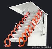 閣樓伸縮樓梯室內外折疊全自動加厚電動復式家用隱形升降樓梯 新品全館85折 YTL