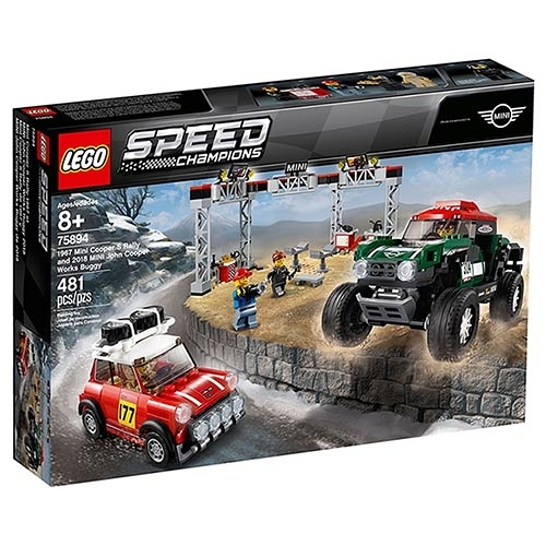 樂高積木 LEGO《 LT75894 》SPEED CHAMPIONS 系列 - 1967 Mini Cooper S Rally and 2018 MINI John Cooper Works Buggy
