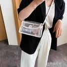 小包包新款潮時尚質感洋氣斜背包包女包果凍超火百搭單肩包   【全館免運】