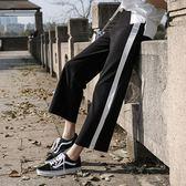 孕婦褲春夏薄款孕婦運動褲春裝闊腿長褲打底褲外穿九分褲夏裝褲子   LannaS