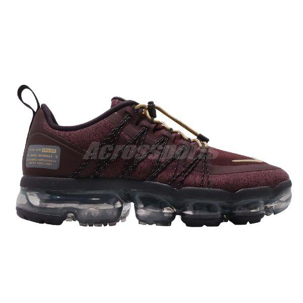 【五折特賣】Nike Wmns Air Vapormax Run Utility 紅 金 防水材質鞋面 大氣墊 運動鞋 女鞋【PUMP306】 AQ8811-600