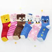 韓國空運迪士尼大臉耳朵中筒襪-大人款 中筒襪 印花襪