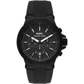 Michael Kors 城市菁英計時手錶-黑/48mm MK8729