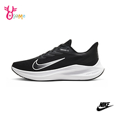 NIKE慢跑鞋 女鞋 運動鞋 跑步鞋 路跑 氣墊鞋 ZOOM WINFLO 7 P7280#黑色◆OSOME奧森鞋業