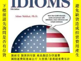二手書博民逛書店Dictionary罕見Of American IdiomsY364682 Adam Makkai Barro