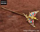 INPHIC-金屬書籤帶鑽中國風金色花仙子杆式文具禮品分頁夾書夾_p07V