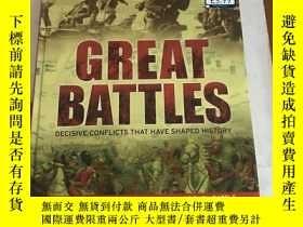 二手書博民逛書店Great罕見Battles:General Editor:Ch