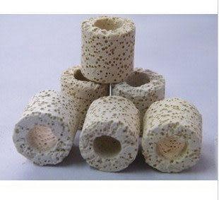 白色多孔呼吸環 科技環 透氣環 陶瓷環500g