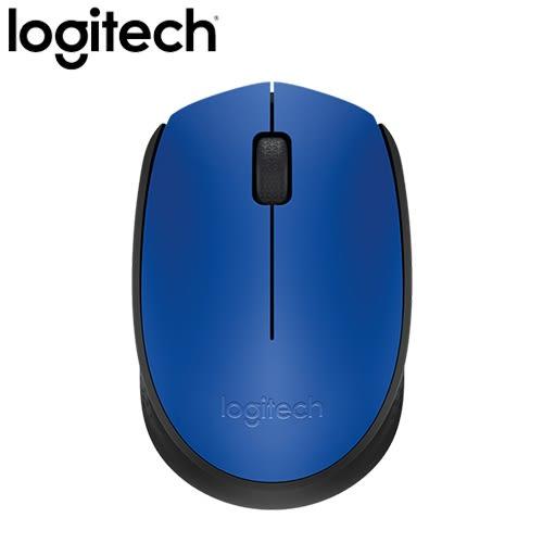 Logitech 羅技 M171 2.4G 無線滑鼠 藍【無線滑鼠免300元】