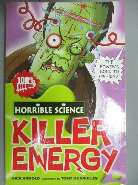 【書寶二手書T6/語言學習_GAW】Killer Energy (Horrible Science)_Nick Arno