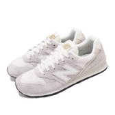 New Balance 休閒鞋 NB 996 灰 米白 女鞋 麂皮 運動鞋 【PUMP306】 WL996VHAB