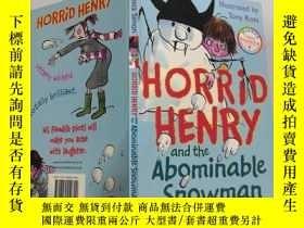 二手書博民逛書店Horrid罕見Henry and the Abominable Snowman 可怕的亨利 和可惡的雪 人。,奇
