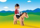 Playmobil 摩比 6973 小女孩與馬兒