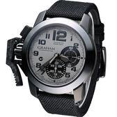 GRAHAM 格林漢 左冠計時機械腕錶 2CCAU.S01A.T12N