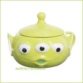 asdfkitty可愛家☆迪士尼 玩具總動員 三眼怪造型有蓋陶瓷杯/馬克杯/收納罐-日本正版商品