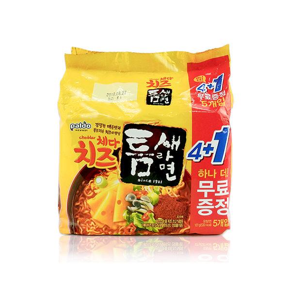 韓國 Paldo 八道 切達起司極地麻辣拉麵(5入) ◆86小舖 ◆