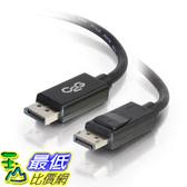 [9美國直購] DELL 電纜線 C2G 6ft Displayport Cable With Latches M/M - Black A7639742