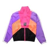 Puma 外套 TFS Jacket 紫 粉紅 女款 立領 防風 蔡依林 Jolin著用 【PUMP306】 59855588