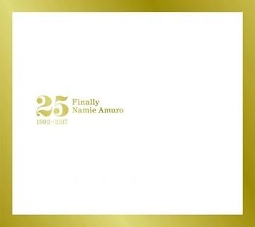安室奈美惠 25週年全精選「Finally」3CD 台壓版 (購潮8) 免運