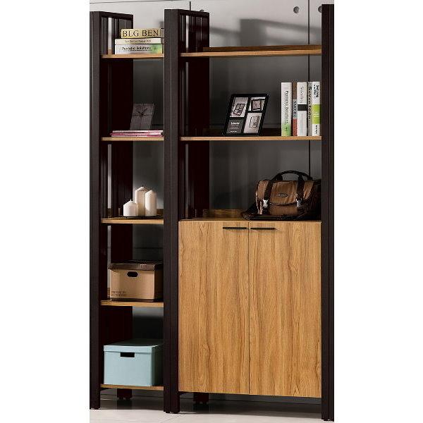書櫃 書櫥 QW-539-23 鋼克里4尺書櫃【大眾家居舘】
