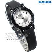 CASIO卡西歐 LQ-139AMV-7B3 復古數字小圓錶 橡膠錶帶 黑x白色 LQ-139AMV-7B3LDF  防水手錶 兒童 女錶