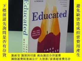 二手書博民逛書店英文原版書:Educated罕見TARA WESTOVERY927 tara westrover . rand