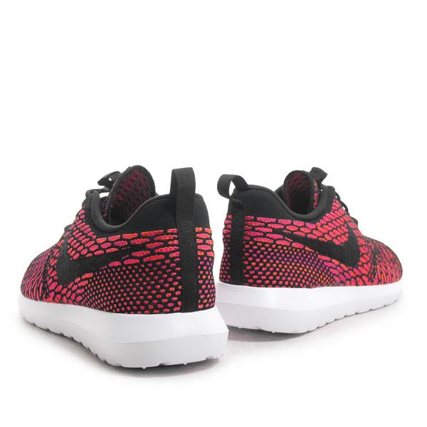 Nike Flyknit Rosherun [677243-004] 男鞋 運動 休閒 黑 紅