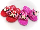 EMMA 商城 Disney 迪士尼兒童輕量大蝴蝶結米妮防水拖鞋26 號童鞋