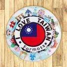 【胸章】台灣郵戳 # 宣傳、裝飾、團體企業 多用途胸章 5.8cm x 5.8cm