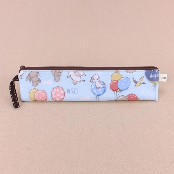 雨朵防水包 Z-61-090 長方長筷套-藍氣球與兔兔16354