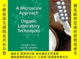 二手書博民逛書店A罕見Microscale Approach To Organic Laboratory Techniques (