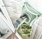 擦玻璃神器家用雙面擦高樓伸縮桿強磁搽窗戶...