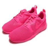 【粉粉DER】Nike 休閒慢跑鞋 Roshe One HYP BR Run Pink 粉紅 全紅 休閒鞋 女鞋【PUMP306】 833826-600
