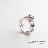 yuniqueBACKYARD 撲克牌鋯石戒指