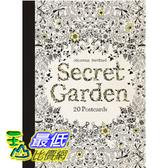 [104美國直購] Secret Garden: 20 Postcards