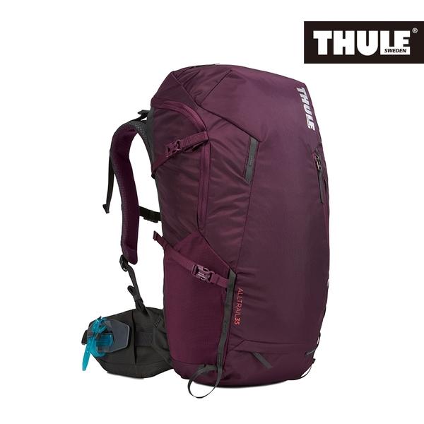 THULE-AllTrail系列35L女用登山包-紫紅