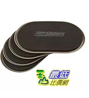 [美國直購] 暢銷冠軍 傢俱移動器4片 ezmove Reusable Furniture Movers for Furniture supersliders  (4 Pack) -(24x14.6cm)