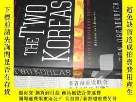 二手書博民逛書店The罕見Two Koreas:A Contemporary H