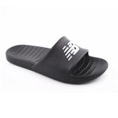 New Balance男女款黑色防水拖鞋-NO.SUF100BK