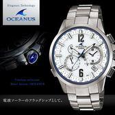 【人文行旅】OCEANUS   OCW-T2000-7A 高科技智慧電波錶