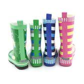 兒童雨靴 兒童雨鞋雨靴環保橡膠防滑加厚印花寶寶小孩學生男童男孩 宜室家居