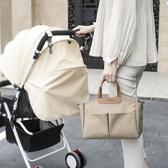 推車掛包媽咪包手提袋寶寶出行多功能輕便防水母嬰包可掛推車便當飯盒袋【8折鉅惠】