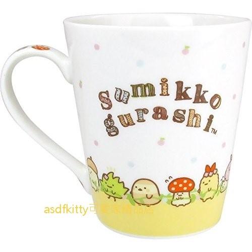 asdfkitty可愛家☆日本san-x角落生物生日快樂陶瓷馬克杯-日本正版商品