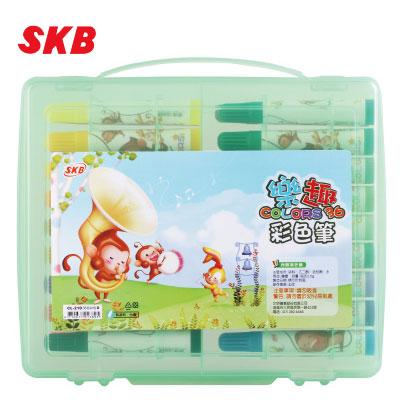 SKB 36色彩色筆 CL-210 / 盒