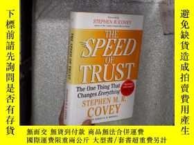 二手書博民逛書店THE罕見SPEED OF TRUST 信任的速度 01Y261