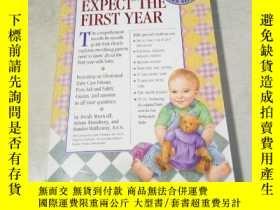 二手書博民逛書店What罕見to Expect the First Year【英