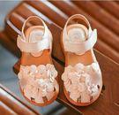 童鞋 花朵立體造型 軟皮革 韓 輕便  ...