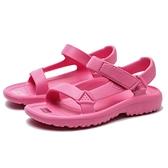 TEVA 中童 檸檬粉紅 防水粘帶膠鞋 (布魯克林) TV1102483CPLM