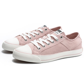 PONY 白底 粉絨布 帆布鞋 低筒 女 (布魯克林) 94W1SH01PK