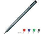 施德樓 MS30805 新配方 防乾耐水性 代針筆 黑色